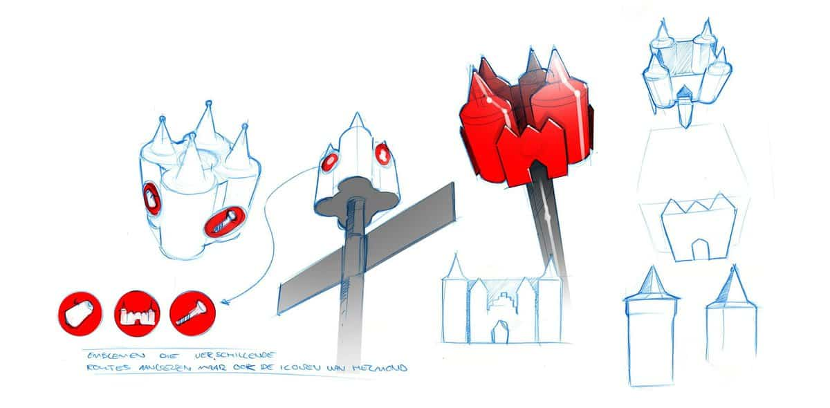rode-kasteeltjes-helmond-schetsen